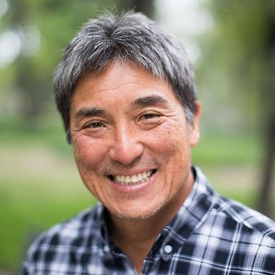 A stunning photo of Guy Kawasaki