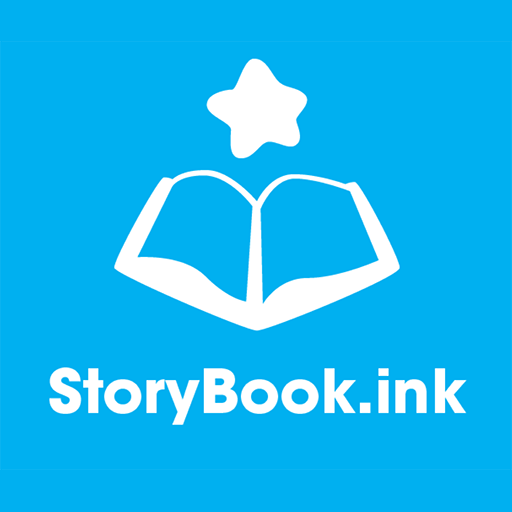 Logo of StoryBook, ink
